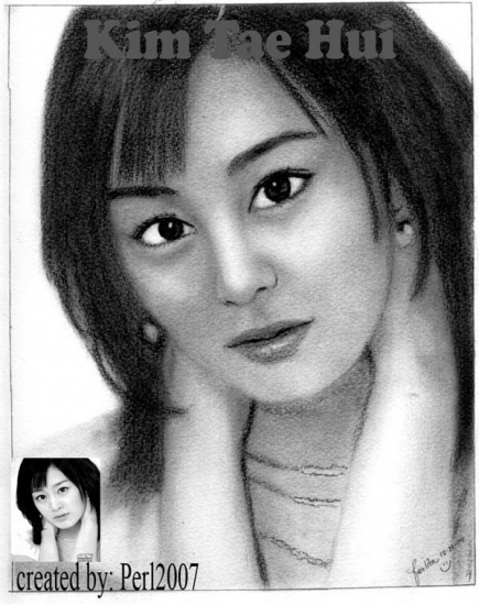 Kim Tae-hee by perl23